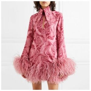 Dresses & Skirts - ❤️ The LYLBELLE Retro Glam Feather Dress